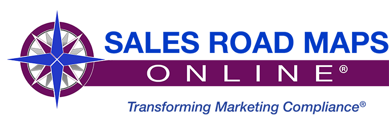 Sales Road Maps Online Transforming Marketing Compliance